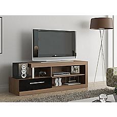 Rack tv 160x45x55 centimetros scal casta o ne gramoso neumobel - Muebles para equipos de musica ikea ...