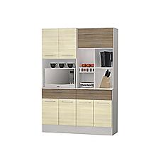 Kit cocina 135 5x88 4x192 3 centimetros con frutero zanzini for Easy ofertas muebles de cocina