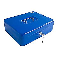 Caja seguridad port til m 300a color azul bash for Llaves para ducha homecenter