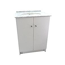 Mueble vanitorio con cubierta m rmol vania 61 x 48 cm menard for Mueble vanitorio easy