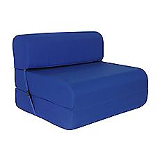 Sill n cama 90cm con respaldo imperial variados colores for Sillon cama chile