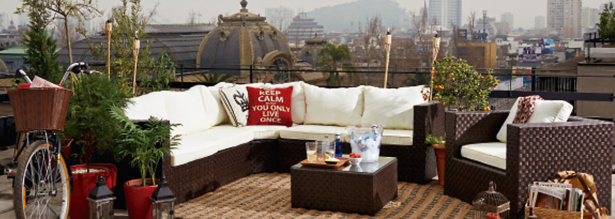 Muebles de terraza for Muebles para terraza al aire libre