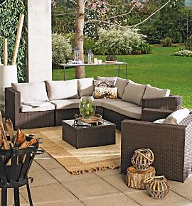 Muebles for Juego comedor terraza madera