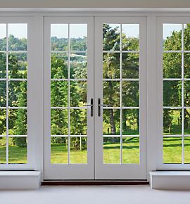 Puertas y aleros construcci n for Modelos de mamparas de madera para sala
