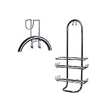 Organizador ducha caddy 12x23x53 cm Clásico silver Interdesign 7b4a254f11ac