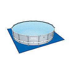 Cubre piso para piscina 488 cm redonda bestway for Cubre piscina bestway