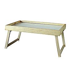 Bandeja madera con patas 30 x 50 artesanos de chile - Bandeja con patas ...