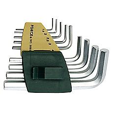 Juego de llaves allen 9 piezas force - Juego llaves allen ...