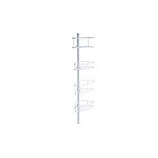 Esquinero 4 repisas para baño blanco MAGLA a58e2a1893a8