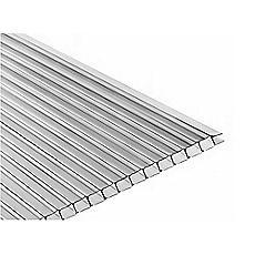 Plancha policarbonato 6 x 1050 x 2900 mm alveolar - Plancha policarbonato transparente ...