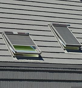Puertas y aleros construcci n for Ventanas para techos planos argentina